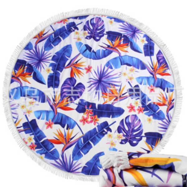 Пляжное полотенце «Перо синей птицы» от 1 590 руб