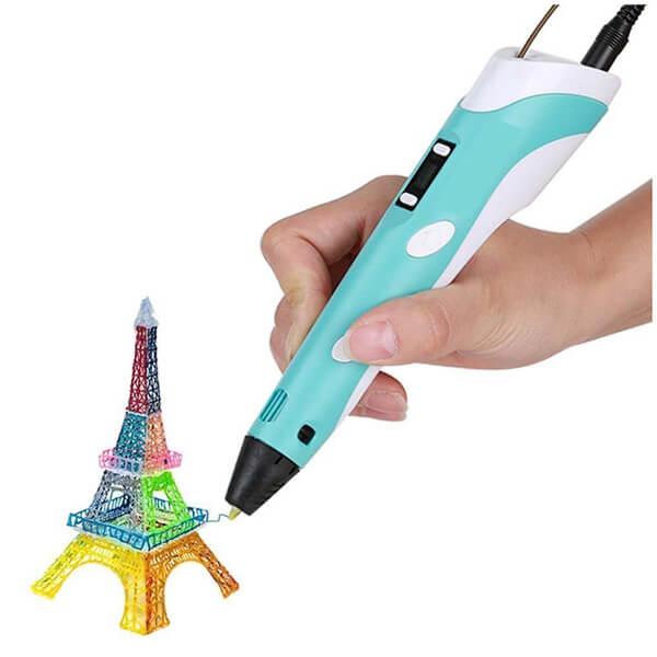 3d ручка с LCD дисплеем 3D PEN-2 (RP-100B фиолетовый)