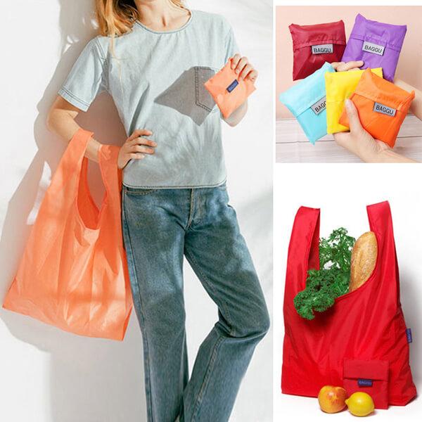 Складная сумка для покупок из парашютного шелка - Товары На Дом