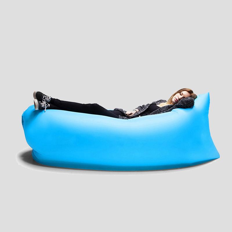 Надувной диван Lamzac, голубой от 750 руб