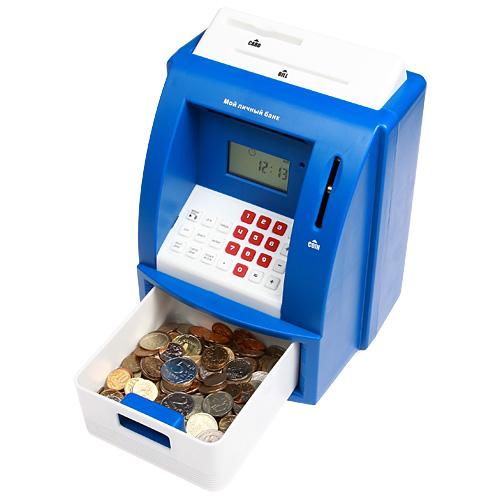 """Копилка-банкомат """"Мой личный банк"""" - купить в Москве и СПб с доставкой курьером"""