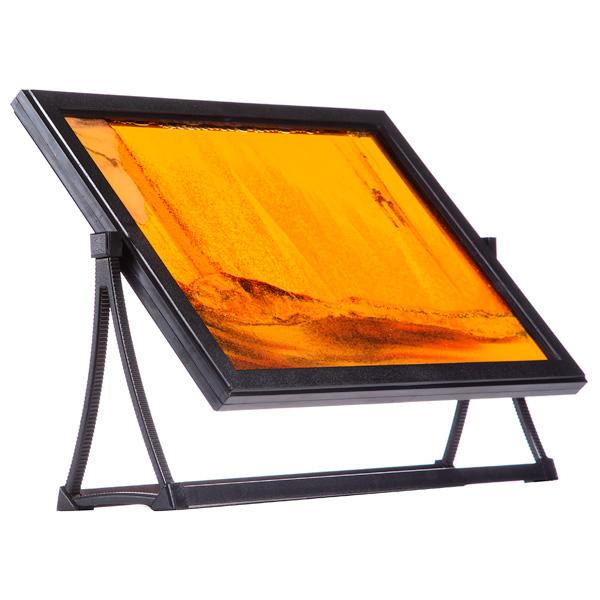 Песочная картина-антистресс «Живой пейзаж» (оранжевый) от 490 руб