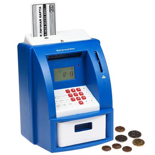 Копилка банкомат электронная «Мой личный банк»