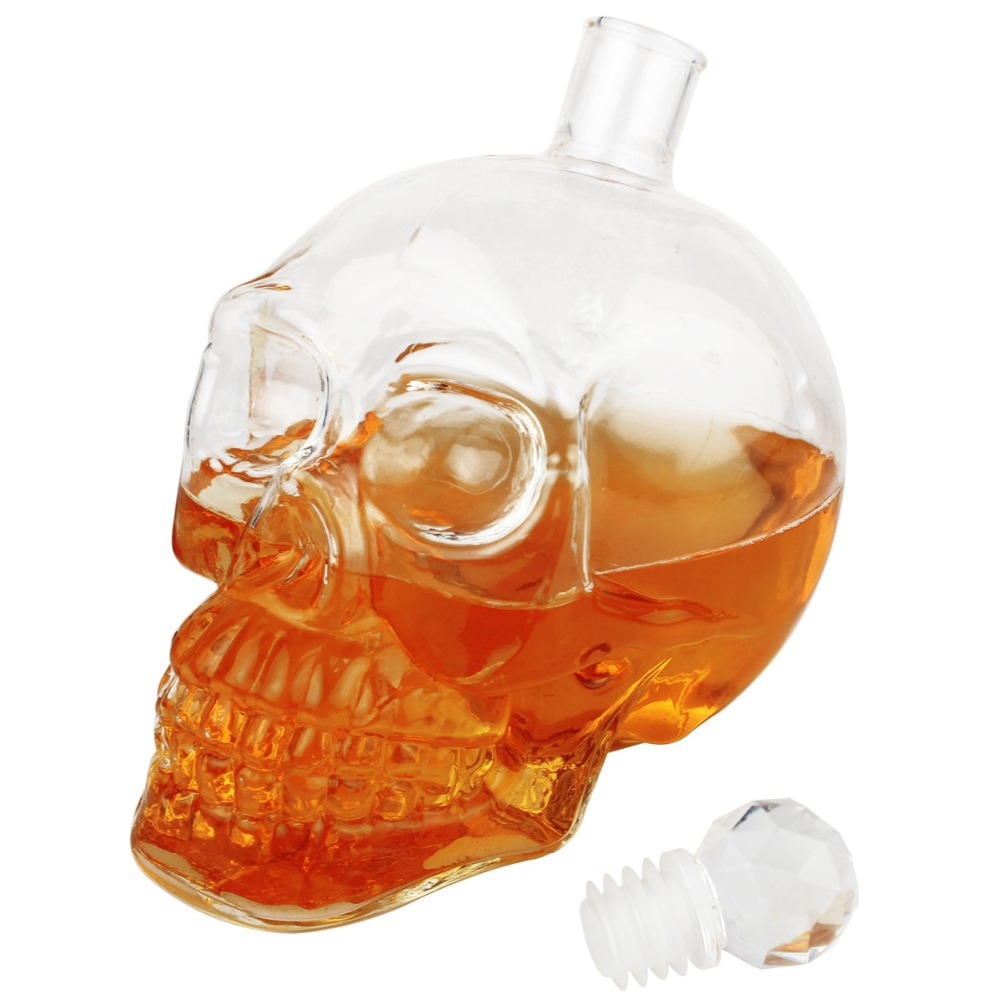 Графин в виде черепа «Crystal Head» 0,5 л.