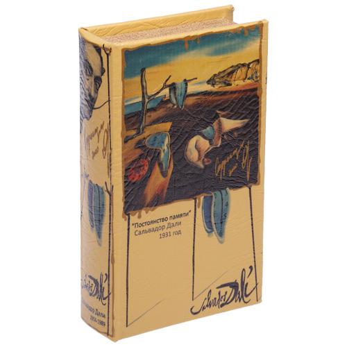 Шкатулка в форме книги «Сальвадор Дали»