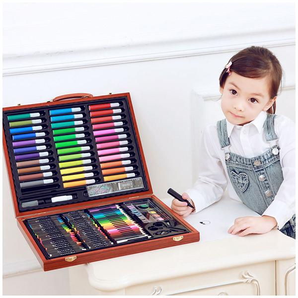 Набор для рисования «Art Set» (150 предметов) в деревянном чемоданчике